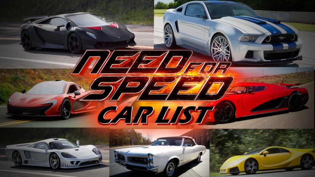 need-for-speed-movie-cars-list